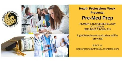 PreMed Prep with UCF College of Medicine