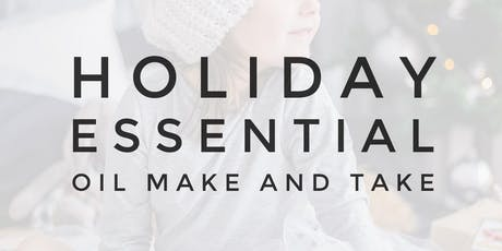 Holiday Make and Take tickets