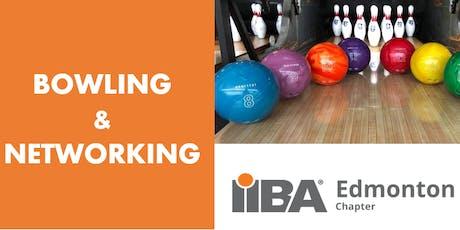 IIBA Edmonton Chapter: Bowling & Networking event tickets