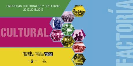 Jornada de presentación de nuevas empresas culturales y creativas entradas