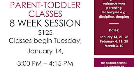 Parent-Toddler Classes tickets