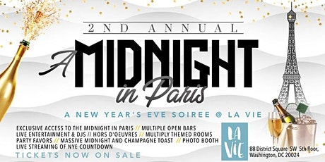 2nd Annual Midnight in Paris (New Year's Eve DMV) tickets