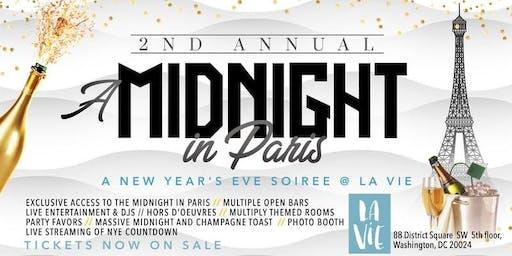2nd Annual Midnight in Paris (New Year's Eve DMV)