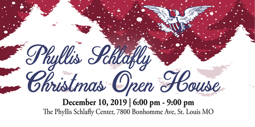 Phyllis Schlafly Christmas Open House - STL
