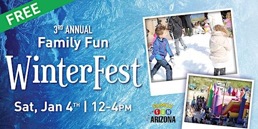 3rd Annual Family Fun WinterFest!