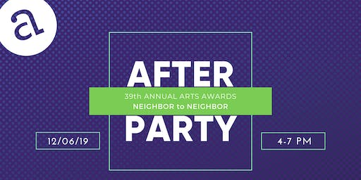 After Party: 39th Annual Arts Awards