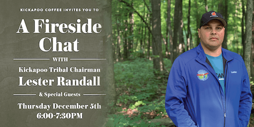 Fireside Chat with Tribal Chairman Lester Randall & Special Guests