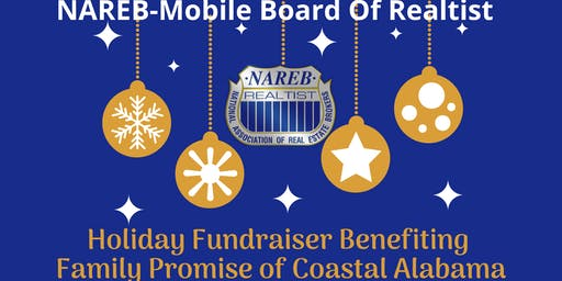 NAREB Mobile Holiday Fundraiser for Family Promise of Coastal Alabama
