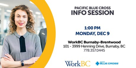 Pacific Blue Cross - Info Session tickets