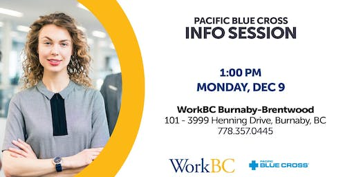Pacific Blue Cross - Info Session