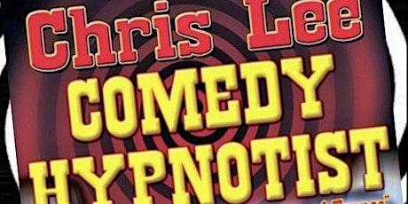 International comedy stage hypnotist Chris Lee tickets