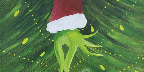 "Painting and Vino Canvas art - ""How the Grinch stole Christmas"" tickets"