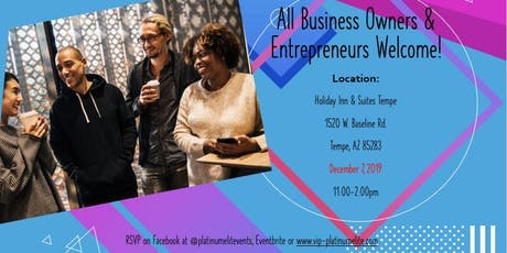 Black Business Owners of Phoenix Networking Social tickets