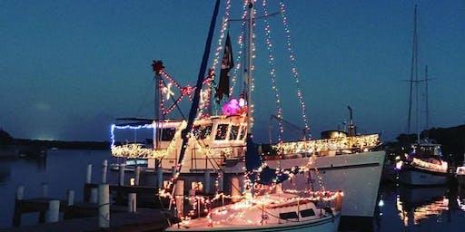 White Elephant Pub's 6th Annual Christmas Boat Parade
