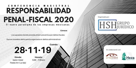 Responsabilidad Penal-Fiscal del Empresario 2020 entradas