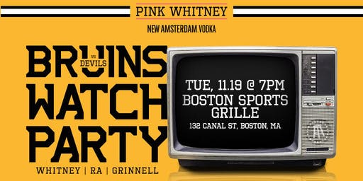 Spittin' Chiclets Bruins Watch Party
