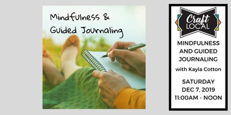 The Twelve Days of Crafting: Mindfulness & Guided Journaling tickets