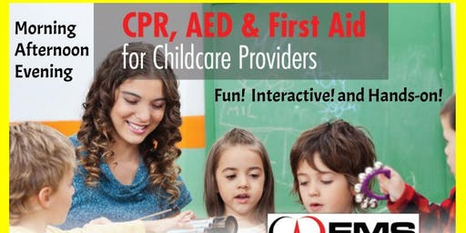 CPR and First Aid Training for Child Care Providers