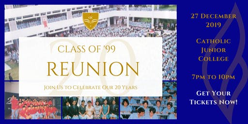 Catholic Junior College Class of '99 20th Anniversary Reunion