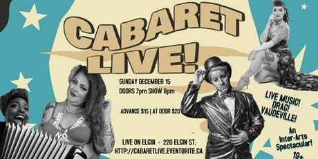 Cabaret LIVE Season Closer! tickets