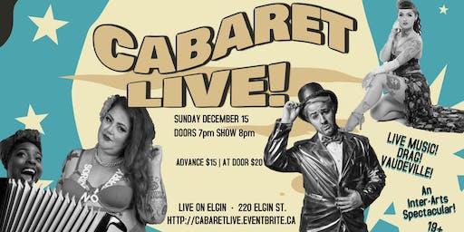 Cabaret LIVE Season Closer!