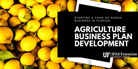 Farming for Profit- Agriculture Business Plan Development tickets