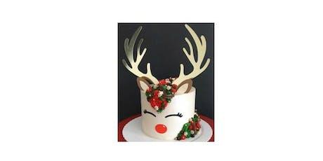 Rudolph Cake Decorating Workshop tickets