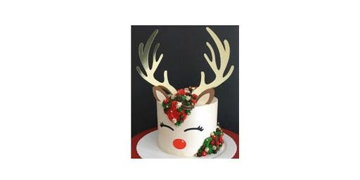 Rudolph Cake Decorating Workshop