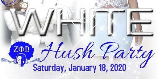 All White Hush Party