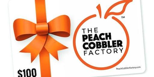Peach Cobbler Factory Gift Card Sale