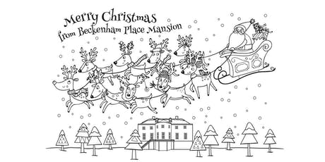 Free colouring at the Beckenham Yuletide Fayre tickets
