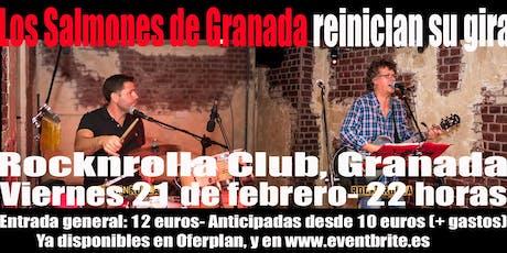 LOS SALMONES de Granada regresan a la Rocknrolla Club! entradas