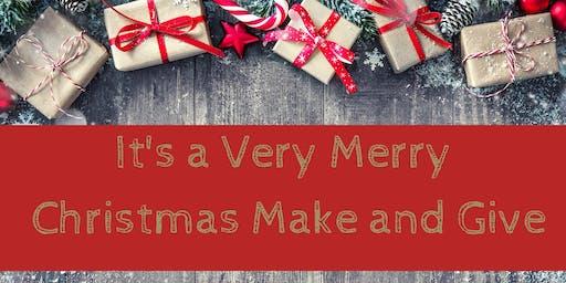 Very Merry Christmas Make and Give