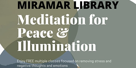 Meditation for Peace and Illumination tickets