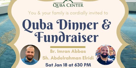 Quba Dinner & Fundraiser tickets