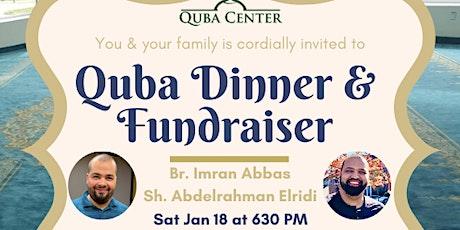 Quba Dinner & Fundraiser tickets