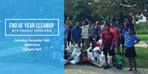 End of Year Cleanup with Congaree Riverkeeper