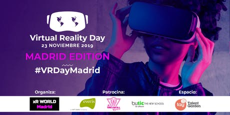 Virtual Reality Day '19 - Madrid, Spain entradas