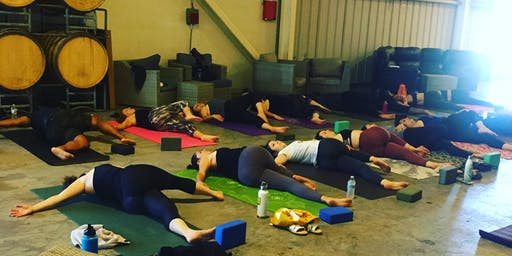 Flowing on Hops- Yoga at 21st Amendment