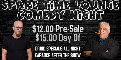 Comedy Night @ Spare Time Lounge tickets