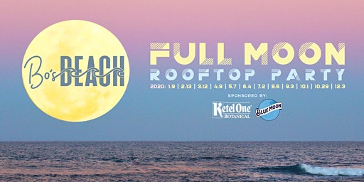 Full Moon Rooftop Party