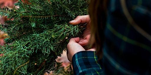 Organic Winter Wreath Class