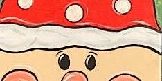 Santa Kid's Snack'n'Paint