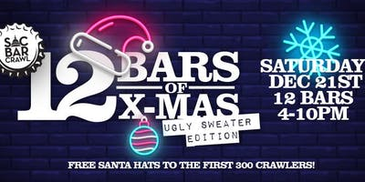 12 BARS OF X-MAS BAR CRAWL: UGLY SWEATER EDITION