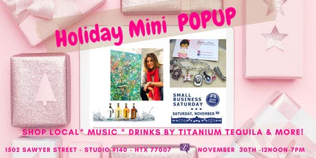 Holiday Mini PopUp tickets
