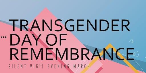 TRANSGENDER DAY OF REMEMBRANCE VIGIL EVENT