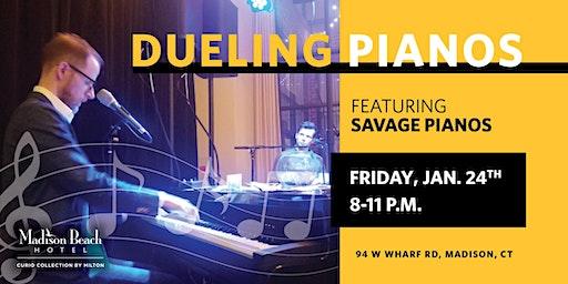 Savage Pianos, Dueling Pianos at Madison Beach Hotel, Madison, CT