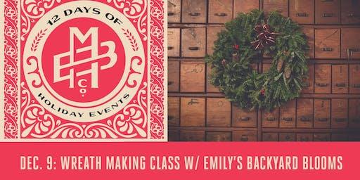 DIY Wreath Making Class