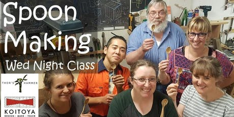 Spoon Making for Fun - Wed Night Class 2020 tickets