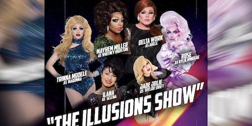 Splash Presents The Illusions Show Taylor Swift, Whitney, Adele, Selena, Kylie Minogue